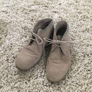 Shoes - Tan Suede Shoes